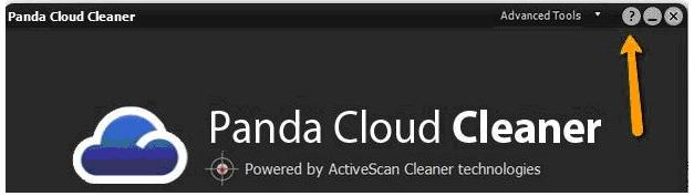 Panda Cloud Cleaner internal help
