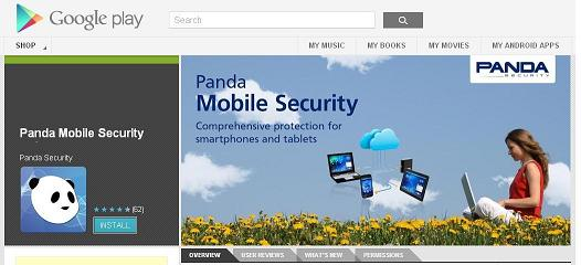 Panda Mobile Security installation