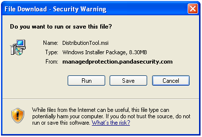 File Download - Security Warning