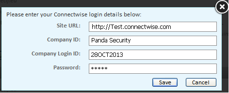 panda managed login